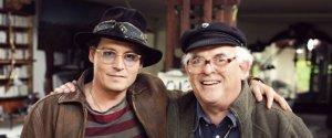 Johnny Depp and Ralph Steadman