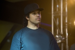 O'SHEA JACKSON, JR. as Ice Cube in Straight Outta Compton. Credit: Jaimie Trueblood