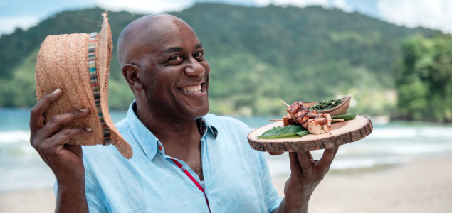 TV: Ainsley's Caribbean Kitchen – Barbados